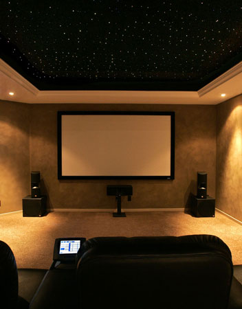 fiber optic lighting for home theatre. whole home automation fiber optic lighting for theatre